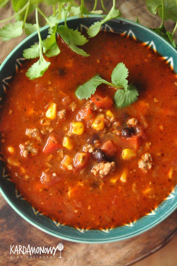 Zupa meksykańska, zupa chili con carne