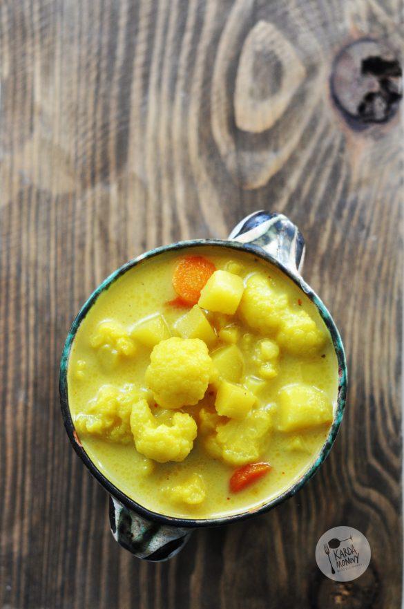 Zupa kalafiorowa z curry